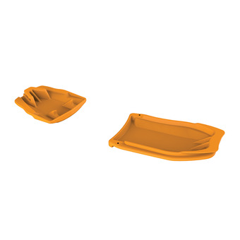 Petzl LEOPARD - Anti-Balling Plates - orange