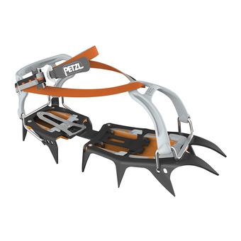Petzl VASAK FLEXLOCK - Crampons noir/gris/orange