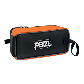 Petzl FAKIR - Sac à crampons black/orange