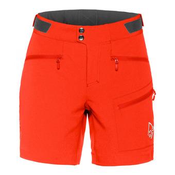 Bermuda Shorts - Women's - FALKETIND FLEX™1 crimson kick