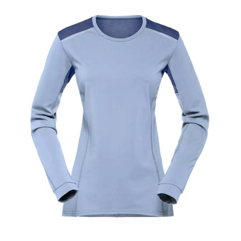 Norrona FALKETIND SUPER WOOL - Camiseta mujer bedrock