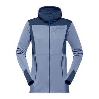 Hooded Polartec® Fleece - Women's - FALKETIND WARM1 bedrock