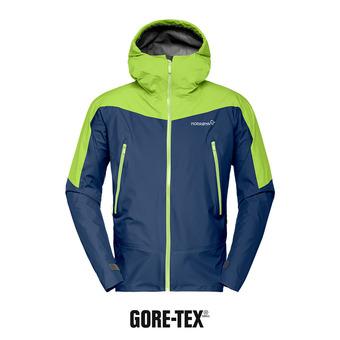 Veste à capuche Gore-Tex® homme FALKETIND indigo night/birch
