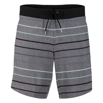 "Short homme BOARDSHORT 8"" ombre stripe"
