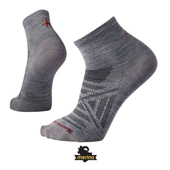 Socks - Men's - PHD OUTDOOR ULTRA LIGHT MINI light grey