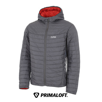 Anorak hombre ENIGMA graphene-red orange