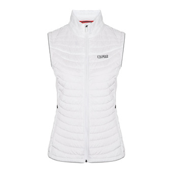 Sleeveless Down Jacket - Women's - ENIGMA white-peach