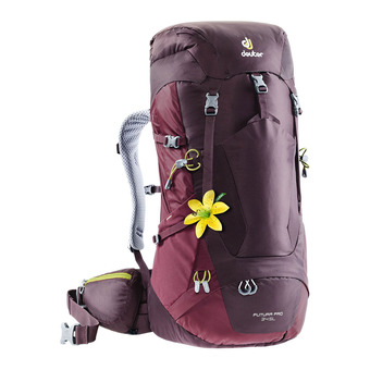 Deuter FUTURA PRO 34L - Backpack - Women's - aubergine/brown