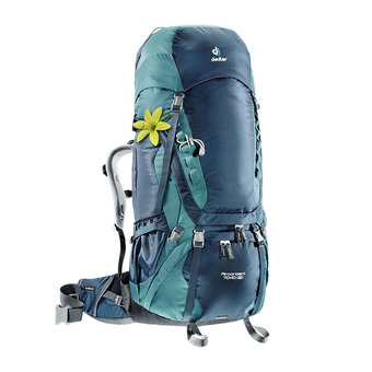 Deuter AIR CONTACT 70+10L - Sac à dos Femme bleu nuit/denim
