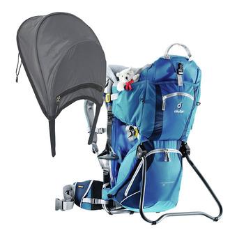 Mochila portabebé 16L KID COMFORT II + sombrilla/paraguas/azul
