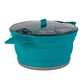 X POT MEDIUM 2.8 L PACIFIC BLUE / X-Pot 2.8 Liter UNISEXE Pacific Blue