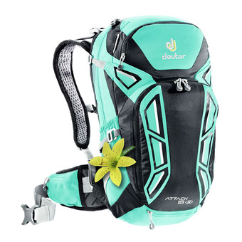 Deuter ATTACK 18L - Backpack - Women's - mint/black