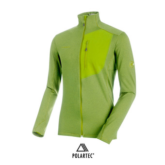 Polaire homme ACONCAGUA LIGHT ML sprout melange