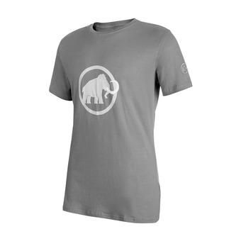 Camiseta hombre MAMMUT LOGO granit/white