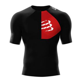 Camiseta de compresión hombre TRIATHLON POSTURAL negro