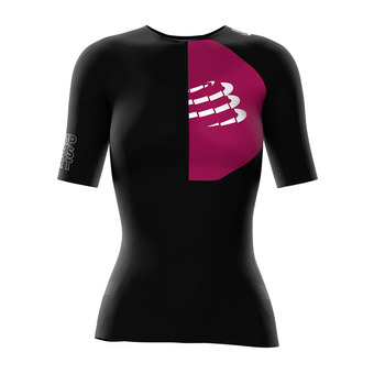 Compressport TRIATHLON POSTURAL AERO - Jersey - Women's - black