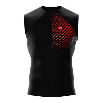Camiseta hombre TRAIL RUNNING POSTURAL negro