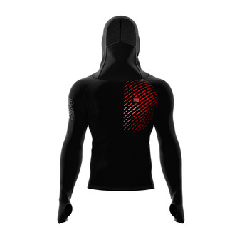 Sweat à capuche 3D THERMO ULTRALIGHT RACING black