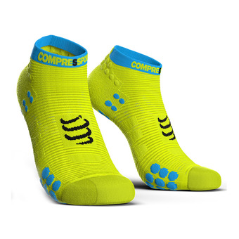 Compressport PRORACING V3 RUN - Calcetines yellow fluo