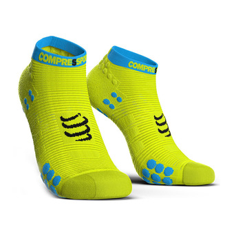Compressport PRORACING V3 RUN - Socks - yellow fluo