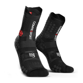 Compressport PRORACING V3 TRAIL - Socks - black