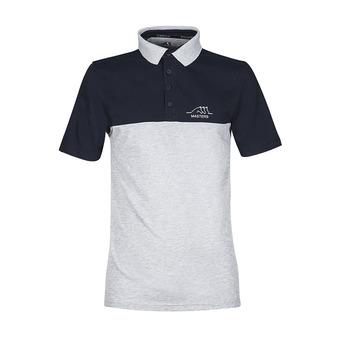 Equiline KOMBU - Polo Homme bleu/gris