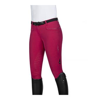 Equiline SCILA - Pantalon siliconé Femme rouge cerise