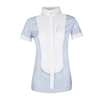 Equiline OPALINE - Chemise concours Femme bleu clair