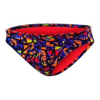 Bikini Bottoms - Women's - COSTA MESA CLASSIC orange/purple