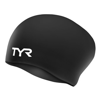 Tyr LONG HAIR - Bonnet de bain Femme black