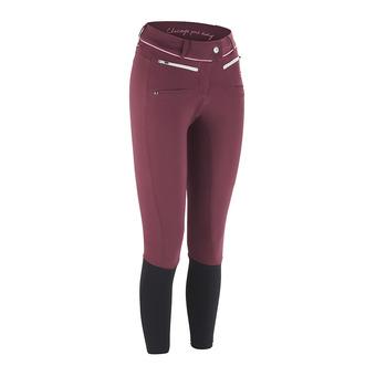 Horse Pilot X BALANCE II - Pantaloni Donna bordeaux