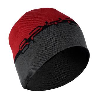 Bonnet homme REVERSIBLE WORD black/red/polar