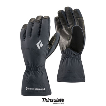 Gloves - GLISSADE black