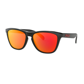 Oakley FROGSKINS - Sunglasses - black ink/prizm ruby