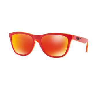 Oakley FROGSKINS - Lunettes de soleil matte red/prizm ruby