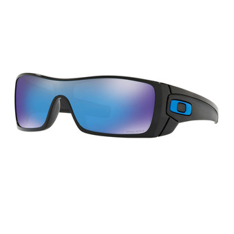 Oakley BATWOLF - Gafas de sol polished black/prizm sapphire