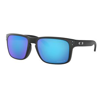 Oakley HOLBROOK - Gafas de sol polarizadas matte black/prizm sapphire