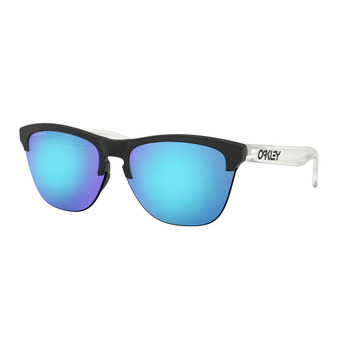 Oakley FROGSKINS LITE - Sunglasses - matt black/prizm sapphire