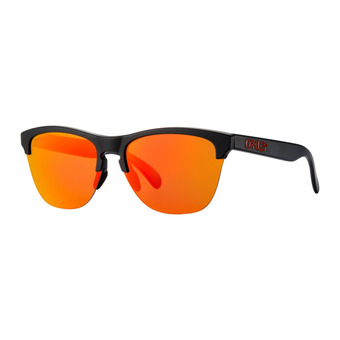 Oakley FROGSKINS LITE - Sunglasses - matt black/prizm ruby