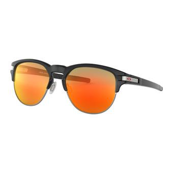 Oakley LATCH KEY - Sunglasses - black ink/prizm ruby