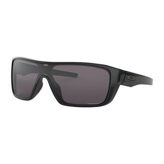 Oakley STRAIGHTBACK - Gafas de sol polished black/prizm grey