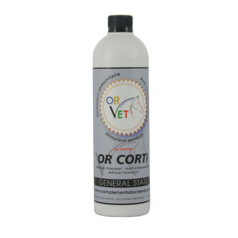 Or-Vet OR CORTI - Aliment complémentaire 600ml