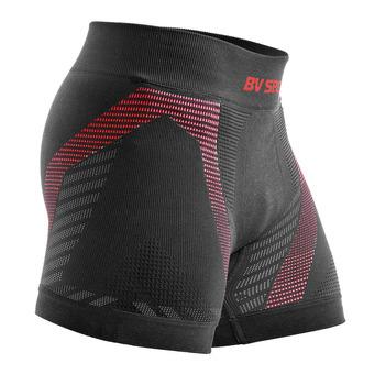 Bv Sport RTECH - Boxer Homme noir/rouge