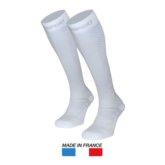 Bv Sport RECOVERY EVO - Calze bianco