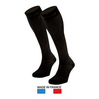 Bv Sport RECOVERY EVO - Chaussettes noir