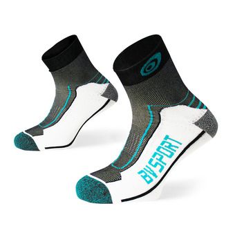 Bv Sport DOUBLE POLYAMIDE - Calcetines black/blue