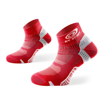 Socquettes de running LIGHT ONE rouge