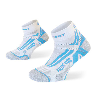 Bv Sport RSX EVO - Calcetines white/blue