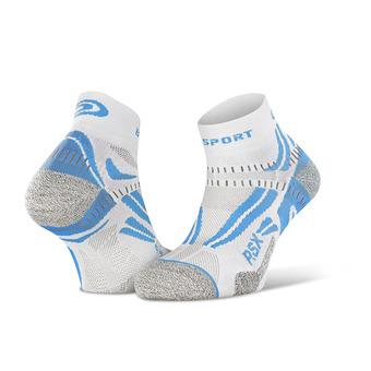 Bv Sport RSX EVO - Chaussettes blanc/bleu