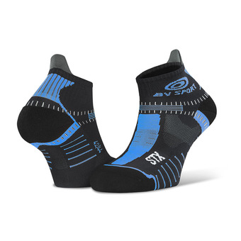 Bv Sport STX EVO - Chaussettes noir/bleu